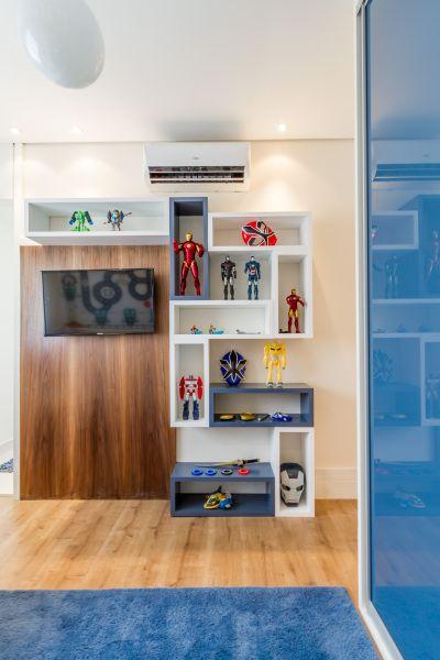 Referência de dormitório para criança - ESSA Arquitetura