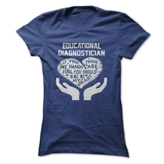 Educational Diagnostician #fashion #clothing. GET  => https://www.sunfrog.com/LifeStyle/Educational-Diagnostician-64904128-Ladies.html?id=60505