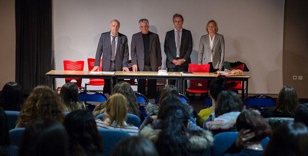 #Sida : Le recteur et le président du Conseil départemental sensibilisent le lycée Lætitia - Corse Net Infos: Corse Net Infos Sida : Le…