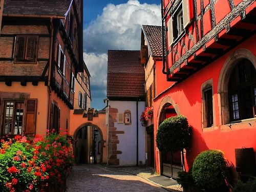 Ribeauville, Alsace, France: Alsace France, Favorite Places, Visit Places, Art, 1000 Places, Amazing Places, Alsace La France