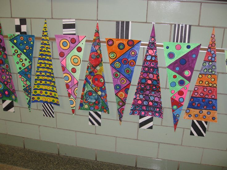 more abstract trees, gr. 5