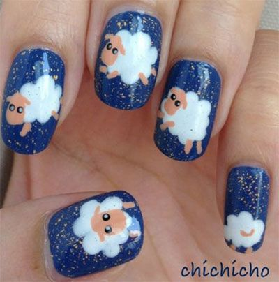 Lovely Animal Nail Art Ideas For Girls Who Love Cute - Trend To Wear