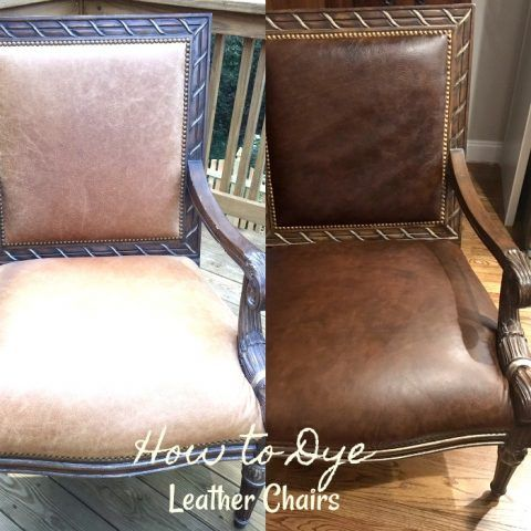 How to Dye Leather Chairs