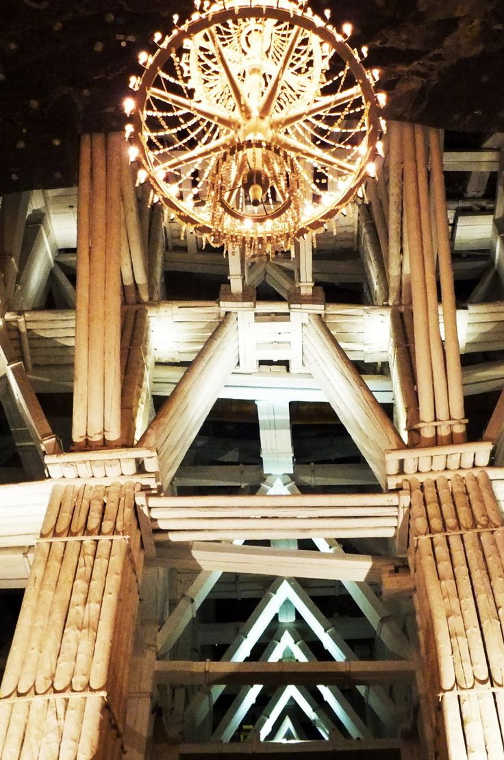 Wieliczka Salt Mine is one of the most valuable monuments in Poland.