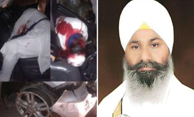 #Sikhpreacher #RanjitSinghDhadrianwale, 36, who was attacked near #Ludhiana on Tuesday