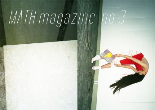 TUMBLR更新。MATH MAGAZINE №3リリースしました。