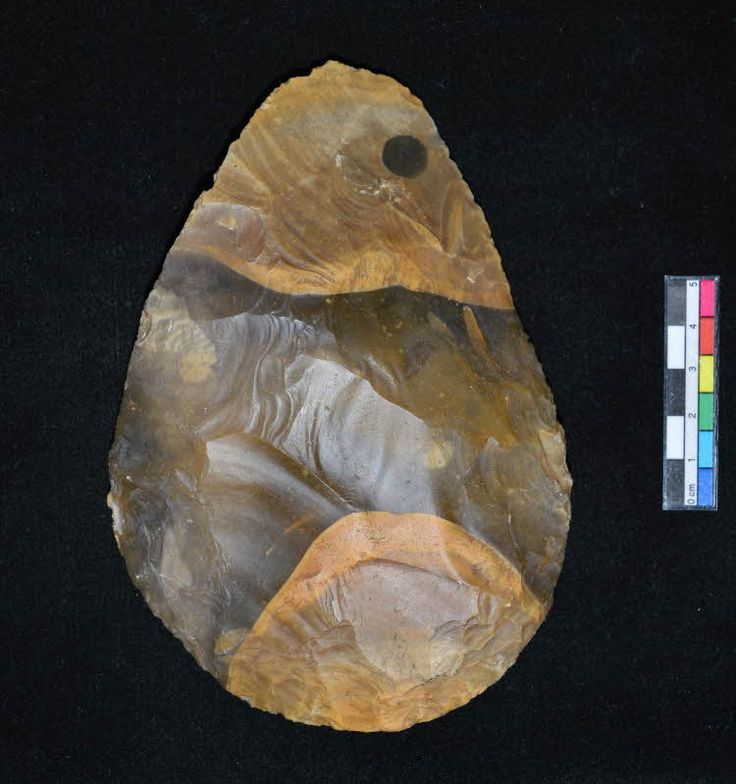 Stone implements dating from 9000 to 24000 bc