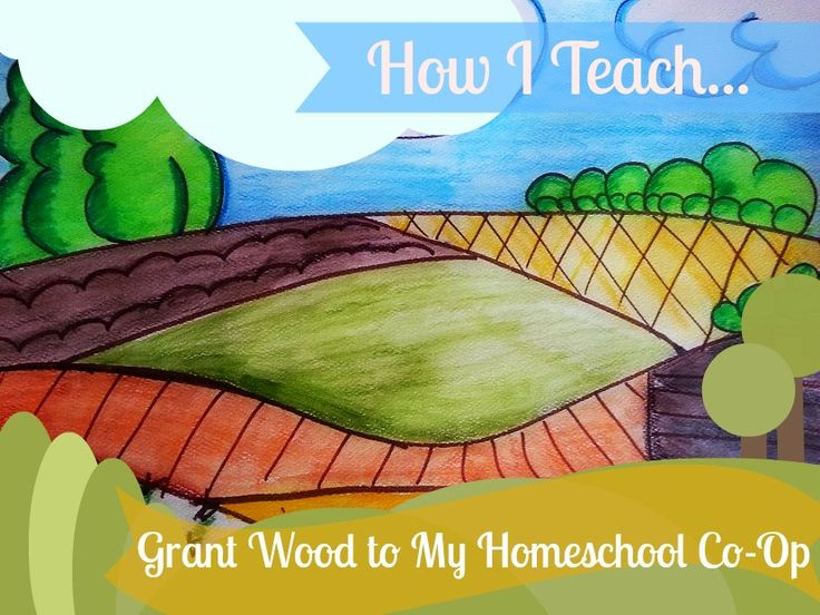 How to teach art to your homeschool co-op | Harrington Harmonies