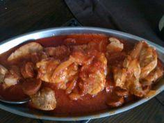 Filet mignon de porc au chorizo et tomate - Recette de cuisine Marmiton : une recette