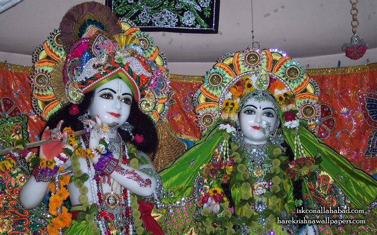 To view Sri Radha Venimadhav Close up wallpapers of ISKCON Allahabad in difference sizes visit - http://harekrishnawallpapers.com/sri-sri-radha-venimadhava-close-up-iskcon-allahabad-wallpaper-001/