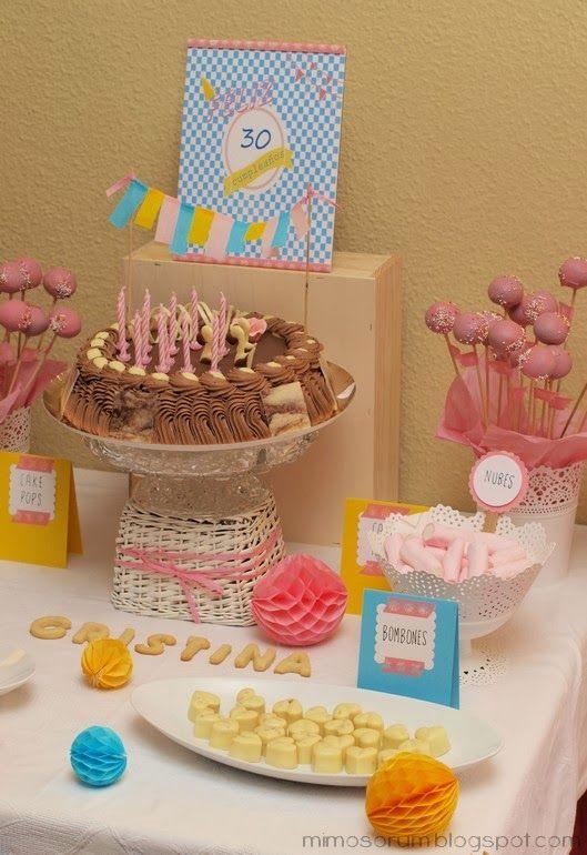 Mimosorum fiesta 30 cumplea os 30th birthday party - 30 cumpleanos ideas ...