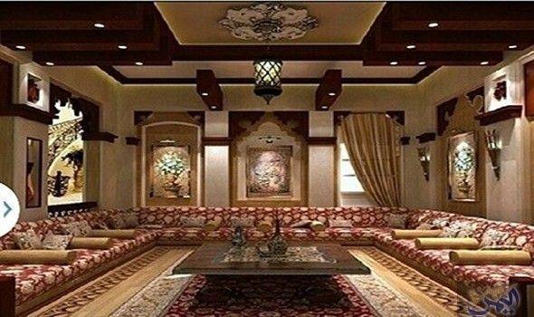 ديكورات المجالس العربية تحمل الطابع الشرقي Home Decor Home Arabic Decor
