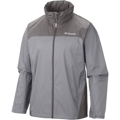 Columbia Sportswear Men's Glennaker Lake Rain Jacket (Beige/Black, Size Medium) - Men's Outerwear, Men's Rainwear at Academy Sports