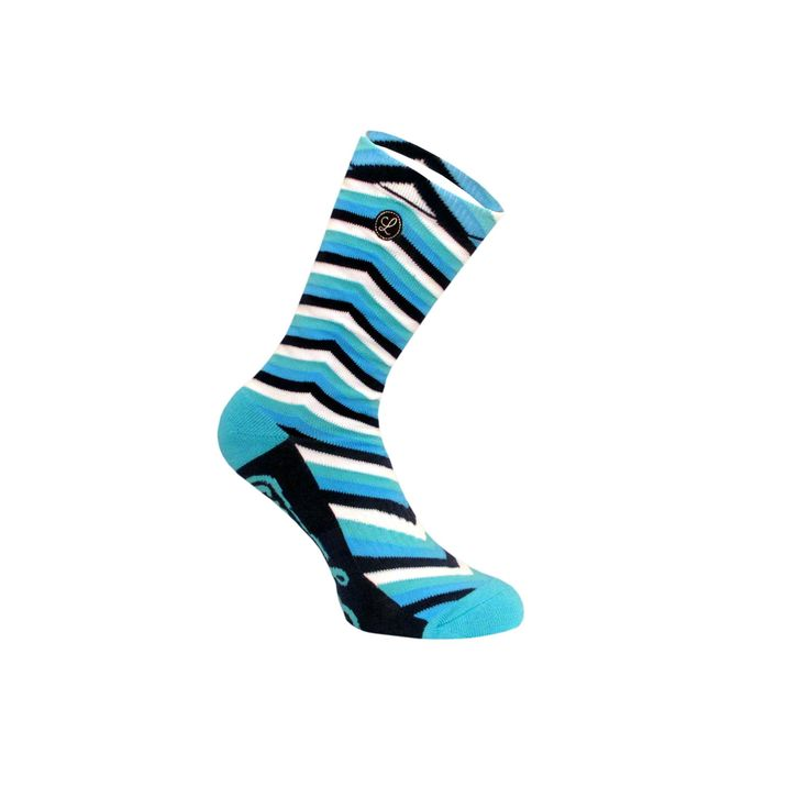 Legends Sock Company Lifestyle Knits Chevys Blue Crew Socks