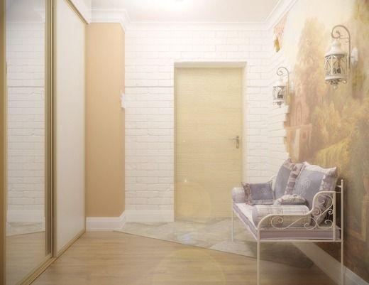 Квартира в стиле прованс. Коридор; Холл