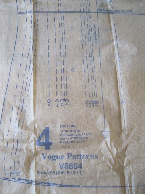 Vogue Pattern number V8804 One of the main reasons I want to tackle the project of making a Chanel-like jacket is because Claire Shaeffe...