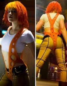 Leeloo suspenders tutorial out of silicone rubber. You're welcome, cosplayers.