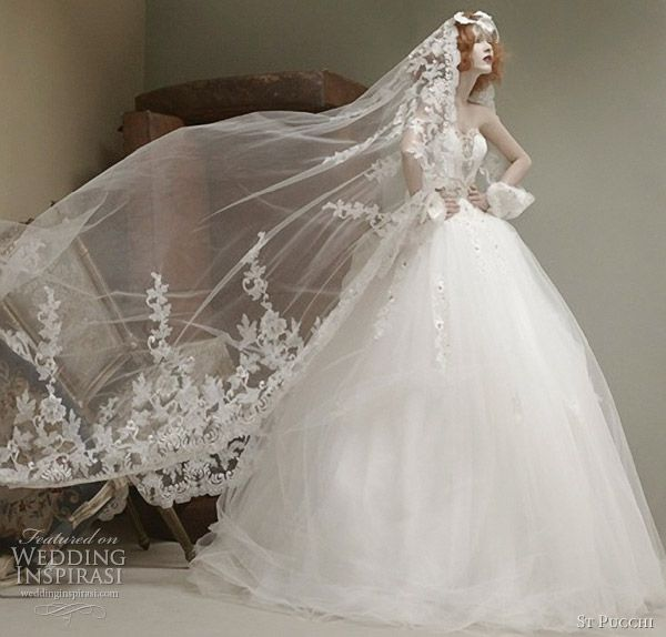 St. Pucchi Couture Wedding Dresses 2012 | Wedding Inspirasi