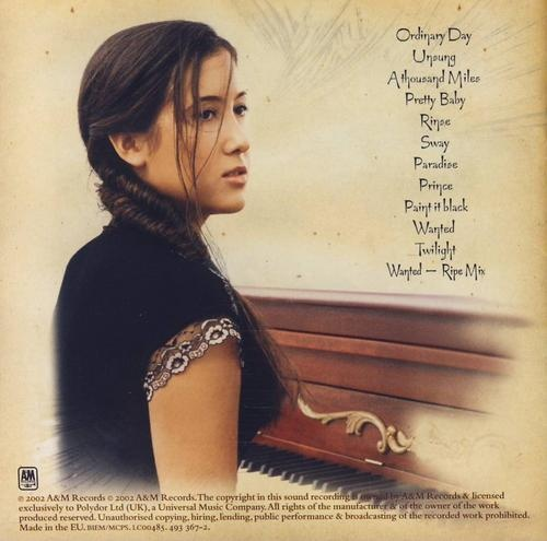 Vanessa Carlton' s album Be Not Nobody