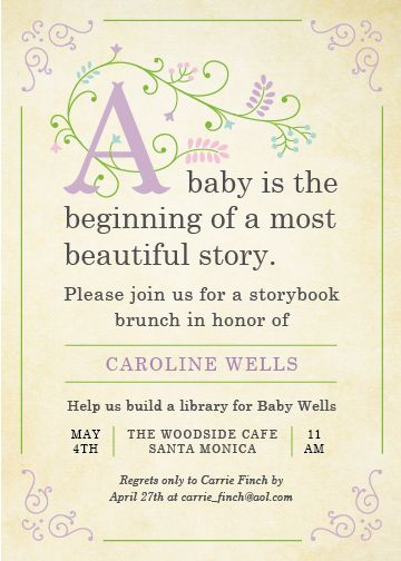 Storybook by Poka Labs  but change the wording. Babies are the beginning of a…