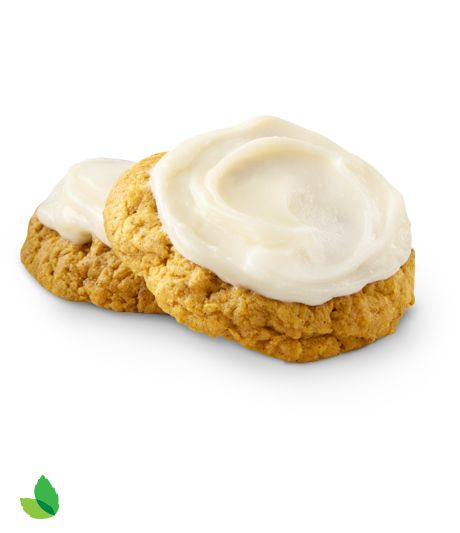 Pumpkin Cookies and Cream Cheese Frosting Recipe With Truvía® Brown Sugar Blend