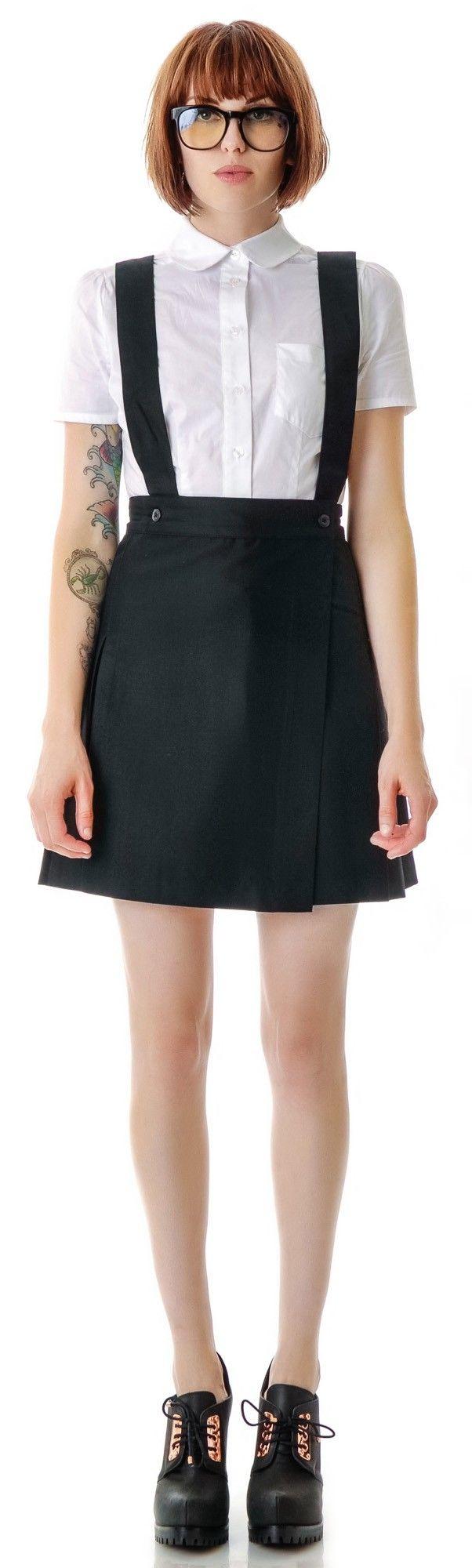 L'ecole des Femmes St. Trinians School Girl Pleated Skirt