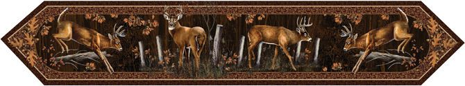Camo Celebrations  - Deer Table Runner, $15.00 (http://www.camocelebrations.com/deer-table-runner/)