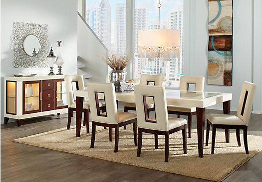 Shop For A Sofia Vergara Savona  Pc Dining Room At Rooms To Go Find Dining Room Sets That Will Look Great In Your Home And Complement The Rest Of