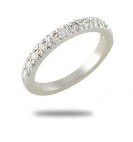 0.35 CT. T.W. Diamond Ring In 18k White Gold