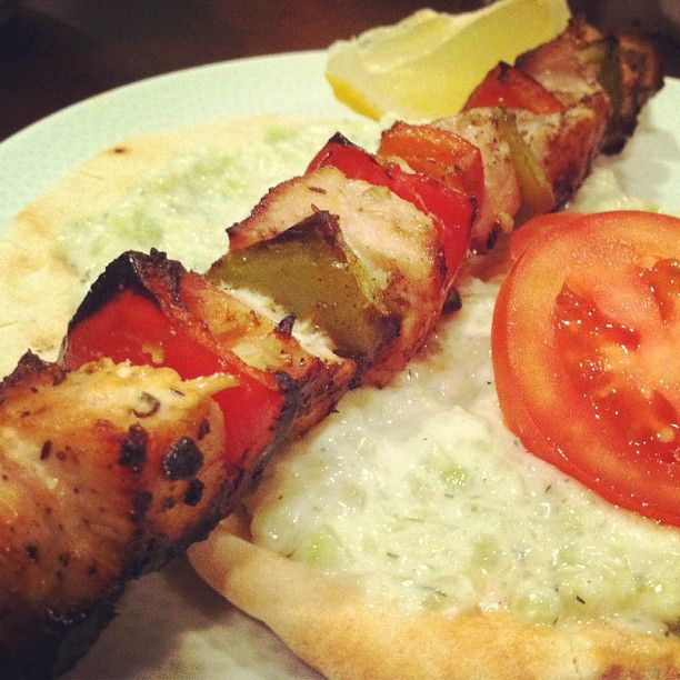 chicken souvlaki | Favorite Recipes | Pinterest