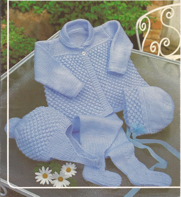 Baby Boy/Girl Pram Set Knitting Pattern PDF (17). $2.50, via Etsy.