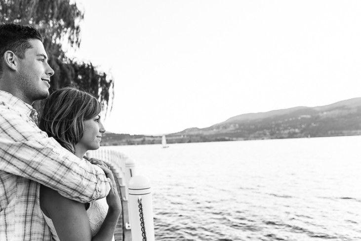 Overlooking Okanagan Lake in Kelowna - engagement photos -  http://tailoredfitphotography.com/engagement-photography/laurel-packing-house-kelowna-photos-okanagan-engagement-photographer-tailored-fit-photography/
