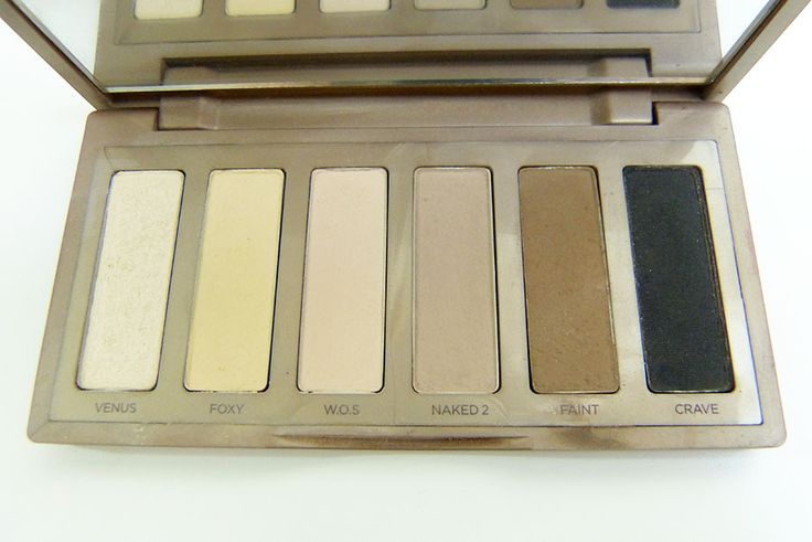 Urban Decay Naked Basics Palette #urbandecay #makeup