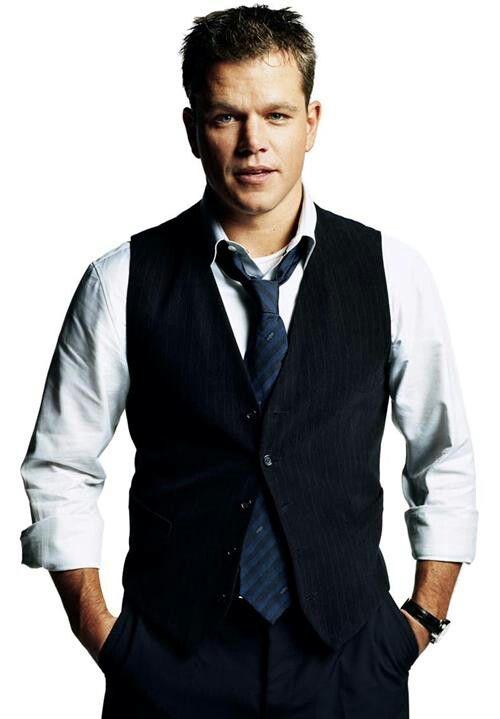 Matt Damon. Harvard smart, Oscar talented, and dedicated to his family.