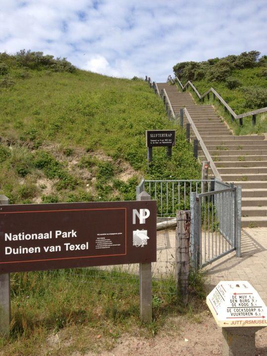 Natuurreservaat De Slufter in Noord-Holland