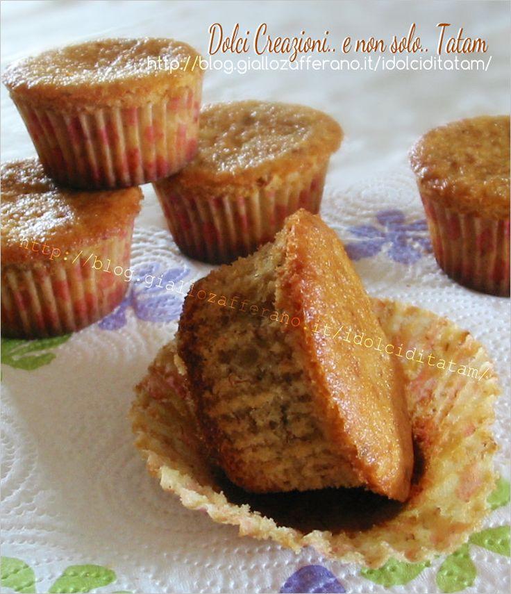 Tortine di banane | ricetta dolce | base per cupcake