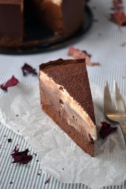 Croatian chocolate chestnut cream torte (18cm)