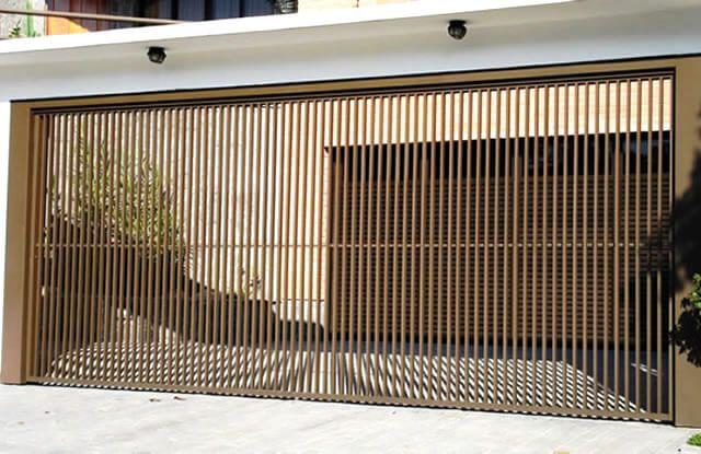 Portão #Tubular EP-002 com preenchimento de #metalon de aço #carbono 100% #galvanizado em diversos perfis.
