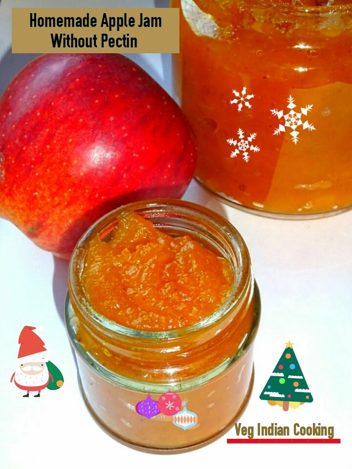 How to make Apple Jam | Homemade  Apple Jam Recipe without  pectin | Easy home made Apple Jam Recipe with images of each step     Today ...