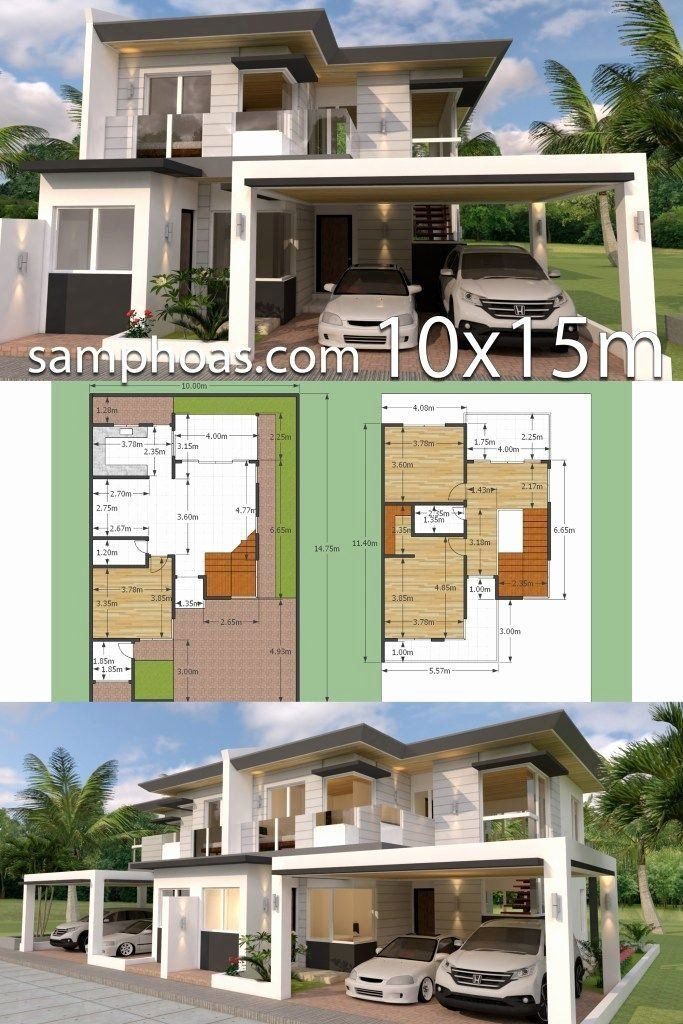 3d Home Design Suite Free Download Luxury Plan 3d Home Design Plan 10x15m Full Plan 3beds Samph In 2020 3d Home Design House Architecture Design Classic House Design