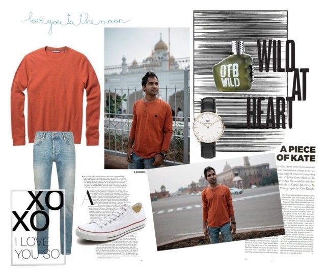 """""""Wild at heart 💋"""" by catalina-joy on Polyvore featuring Art Addiction, Toad&Co, Topshop, Topman, Converse, Daniel Wellington, Natural Life, xO Design, Diesel and men's fashion"""