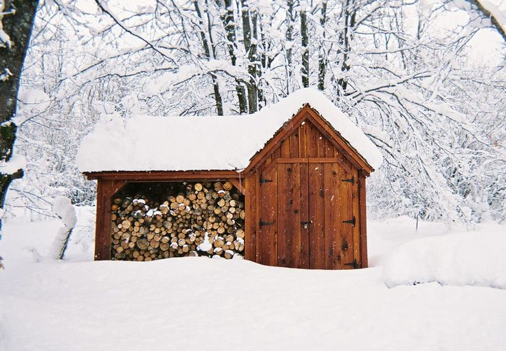 Our vermont gem holds 2 cords of firewood and has secure for Post and beam kits maine