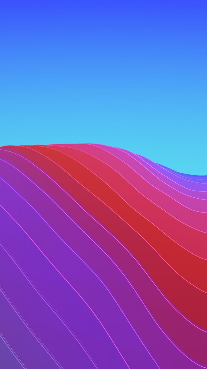 Waves Abstract Gradient Ios 11 Colorful Iphone X Stock 720x1280 Wallpaper Phone Backgrounds Tumblr Wallpaper Iphone Wallpaper