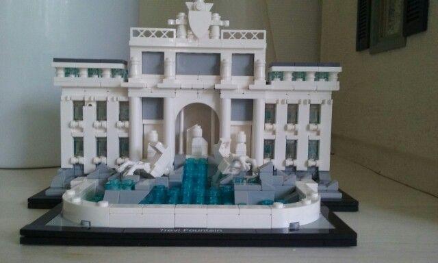 Trevi fontein lego