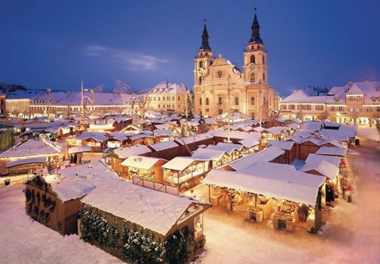 Experience the magic of Berlin's Christmas markets from the contemporary comfort of this central hotel - flights included