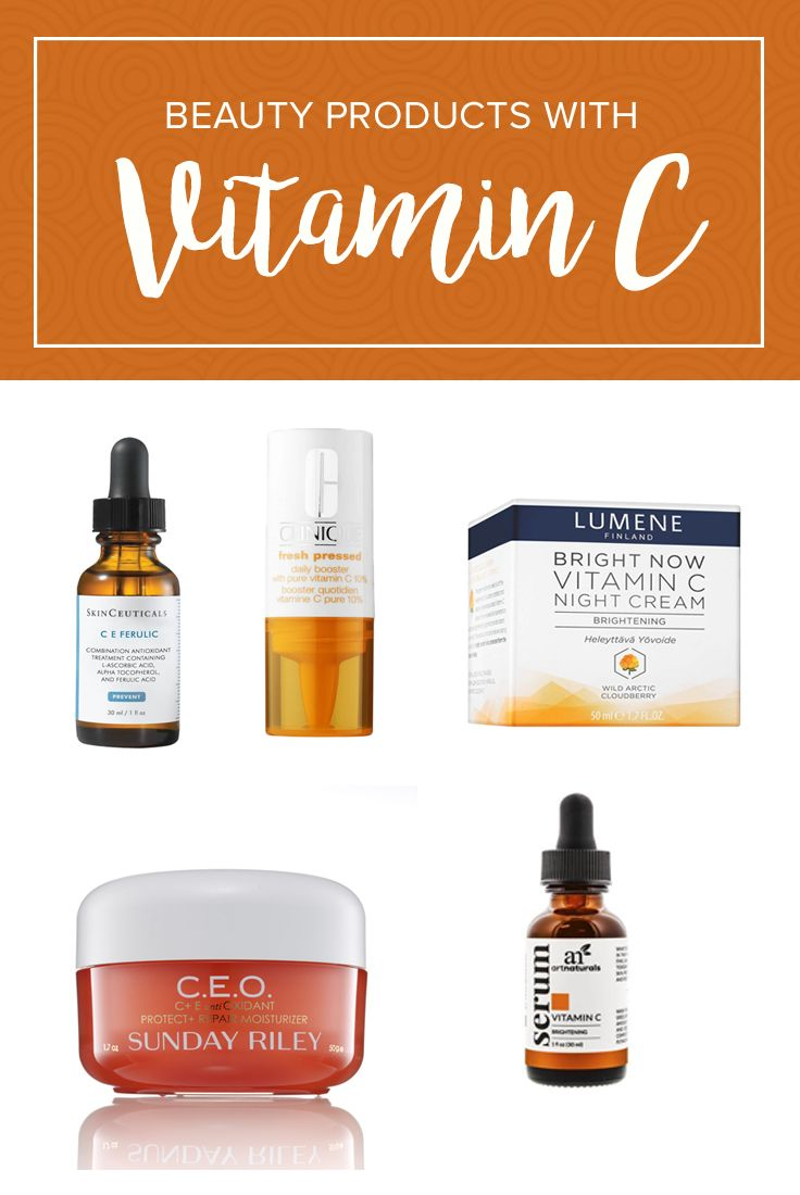 Upgrade your skin care with these products that contain Vitamin C. They will help you get glowing skin.