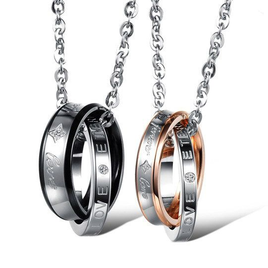 Forever Love Matching Necklaces for Best by onlyuniquegifts, $17.00