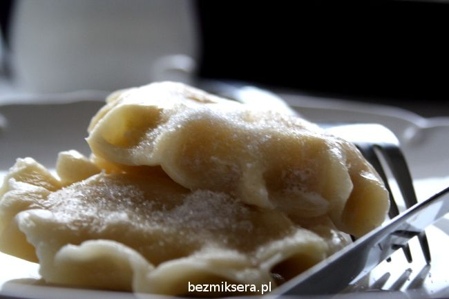 Dumplings with cottage cheese.