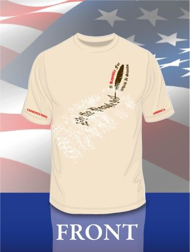 """Constituting America's """"A Republic For Which It Stands"""" t-shirt!"""