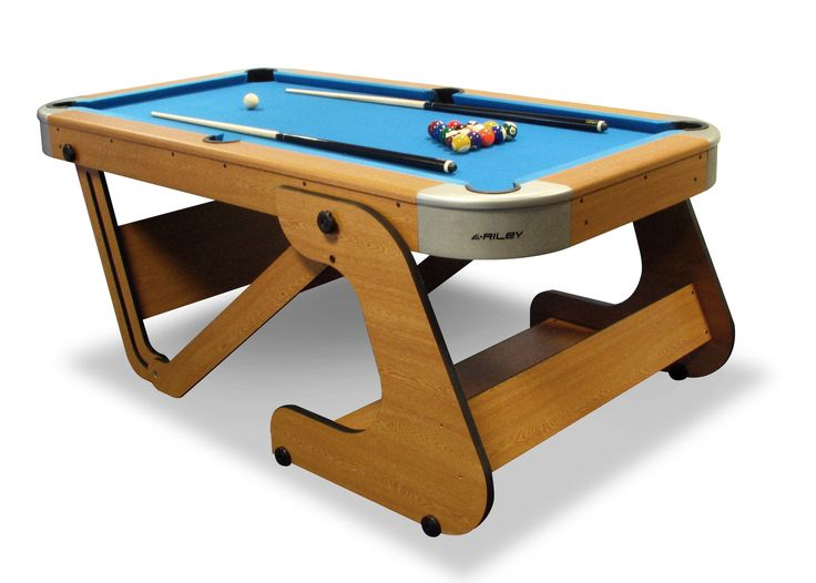 Riley Folding Pool Table 7ft
